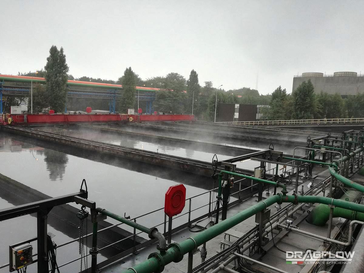 Шламовые насосы  DRAGFLOW EL7,5  с электрическим приводом на сталелитейном заводе в г. Гент, Бельгия