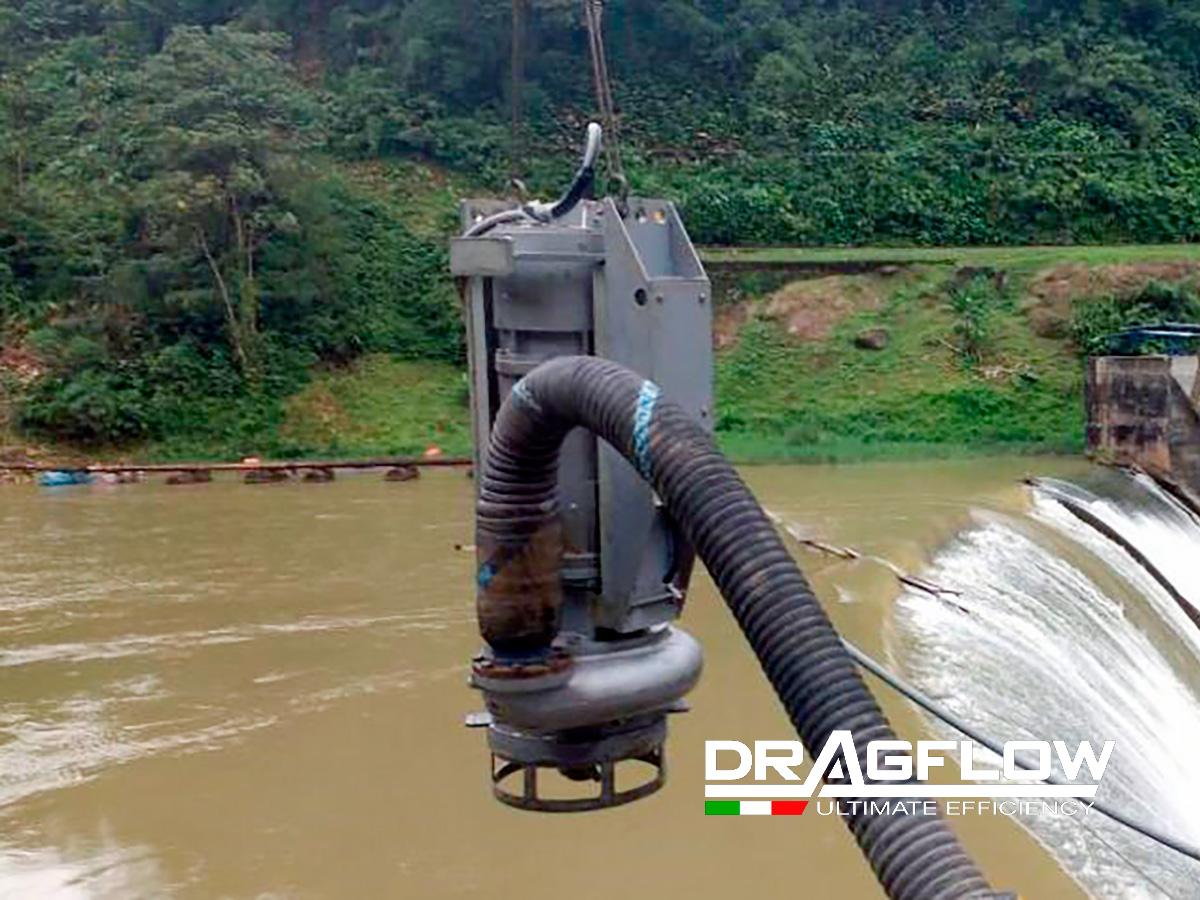 ШЛАМОВЫЙ ГРУНТОВЫЙ НАСОС DRAGFLOW EL606SB c электрическим приводом
