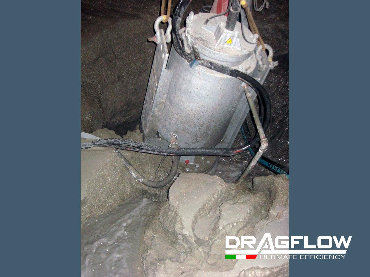 ШЛАМОВЫЙ ГРУНТОВЫЙ НАСОС DRAGFLOW EL35B c электрическим приводом