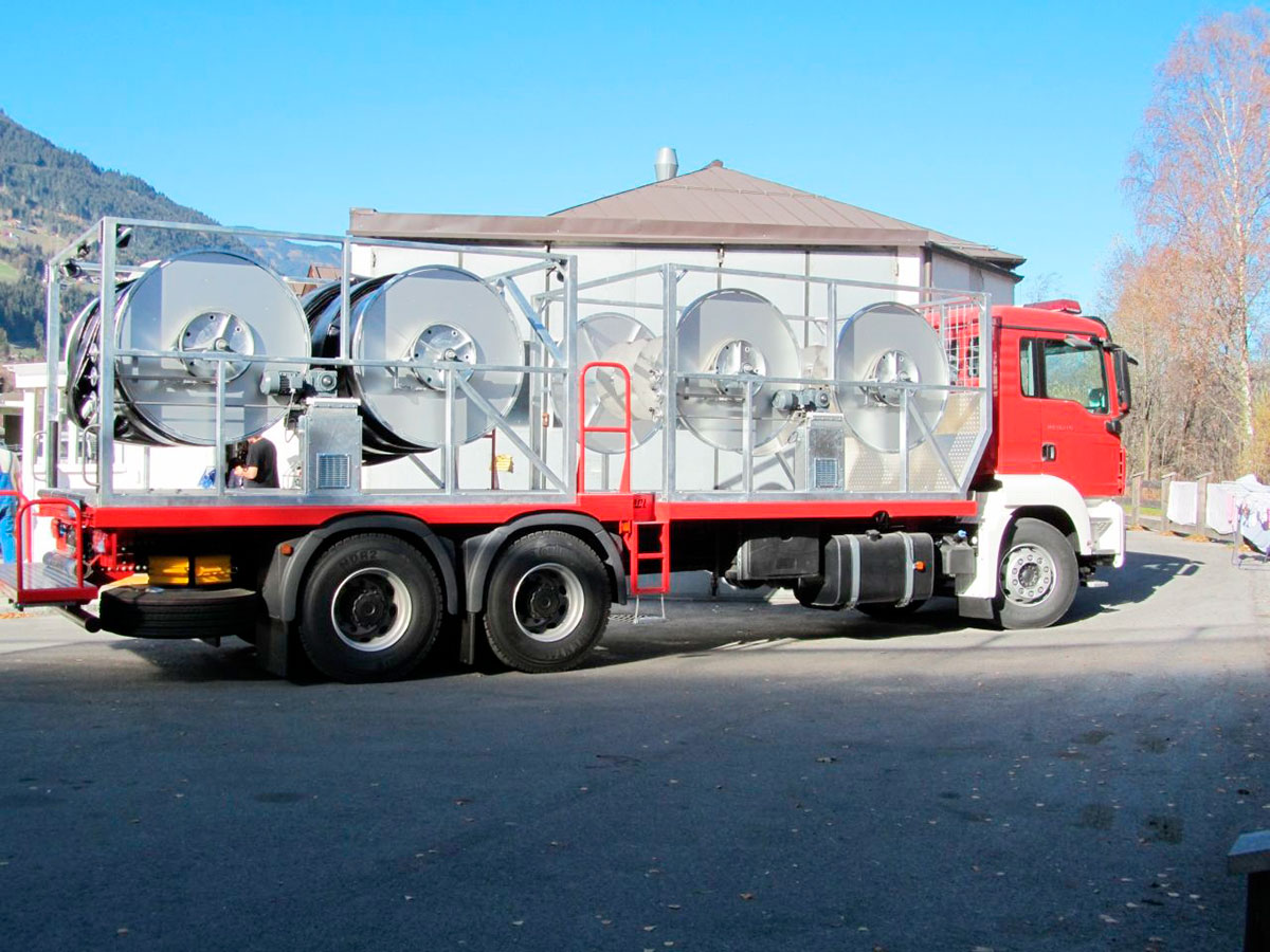Дноуглубительный шламовый грунтовый насос DRAGFLOW HY85/160B с гидравлическим приводом
