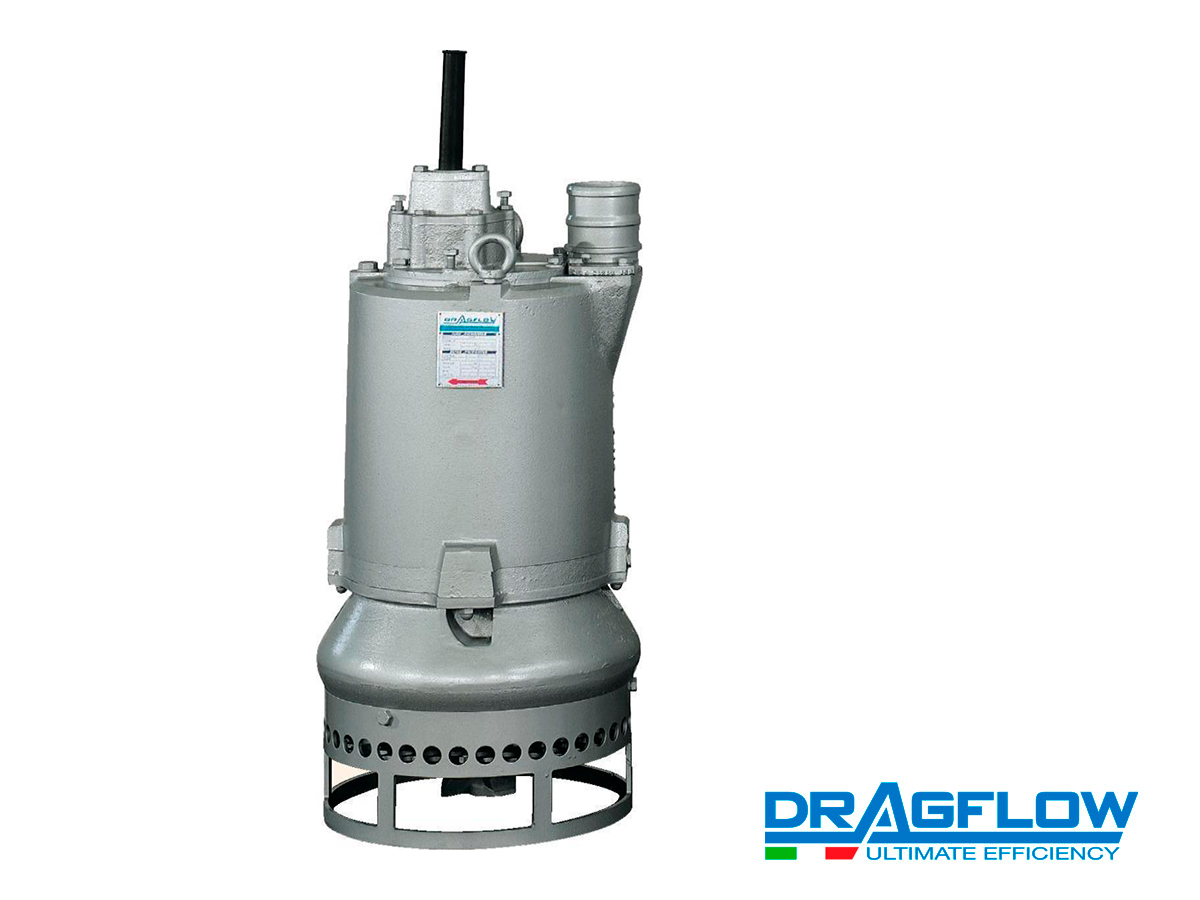 Шламовый грунтовый насос DRAGFLOW EL12,5SS с электрическим приводом