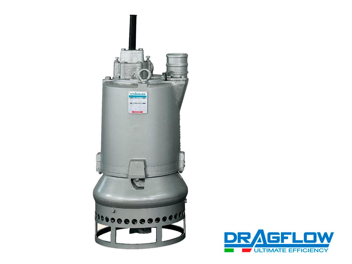 Шламовый грунтовый насос DRAGFLOW EL7,5SS с электрическим приводом